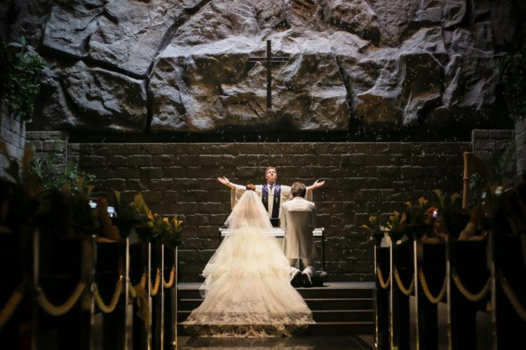 サプライズがいっぱいの結婚式!