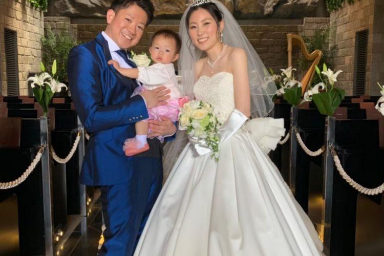 """桜の季節に""""さくら""""ちゃんお披露目Wedding♪"""