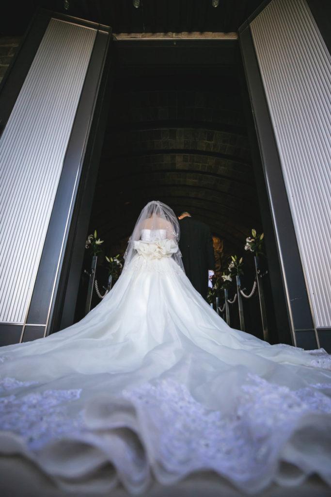 涙が出る程の感動的なチャペルで、幸せいっぱいの結婚式♪